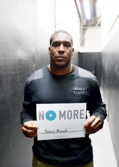 Antonio Gates as seen in a Twitter Post in October 2014