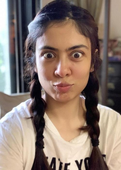 Anurita Jha in a selfie that was taken in July 2020