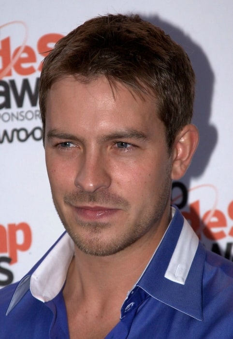 Ashley Taylor Dawson pictured at the Inside Soap Awards in September 2010