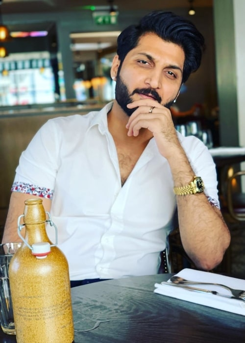 Bilal Saeed as seen in an Instagram post