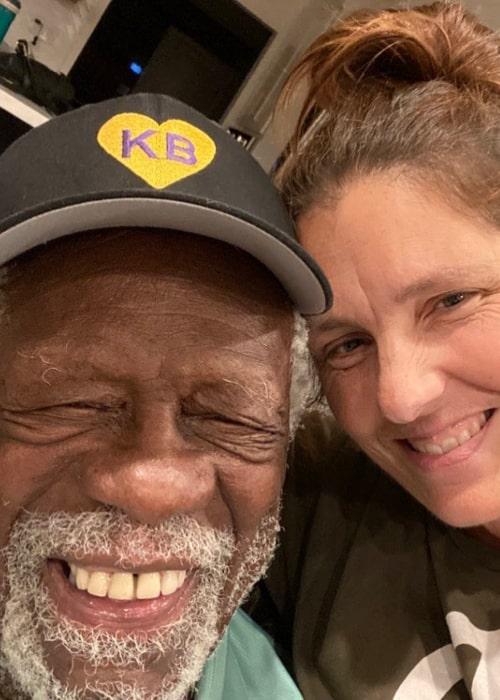 Bill Russell and Jeannine Fiorito, as seen in May 2020