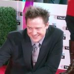 Brendan Fraser at Canada's Walk of Fame induction in 2006