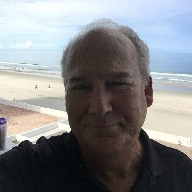 Brett Rice enjoying himself by the beach in September 2016