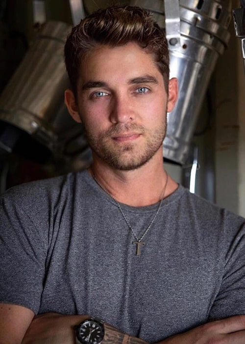 Brett Young as seen in an Instagram Post in May 2018