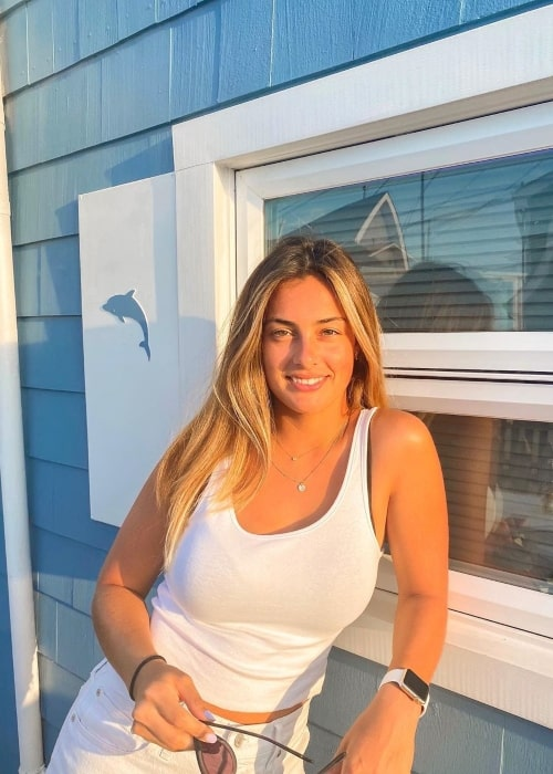 Cameron Dolan as seen in a picture that was taken at the Jersey Shore, New Jersey in July 2020