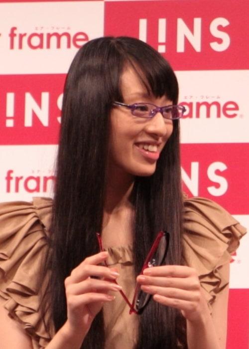 Chiaki Kuriyama as seen during an event in September 2010