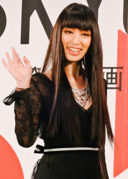 Chiaki Kuriyama pictured at the 26th Tokyo International Film Festival
