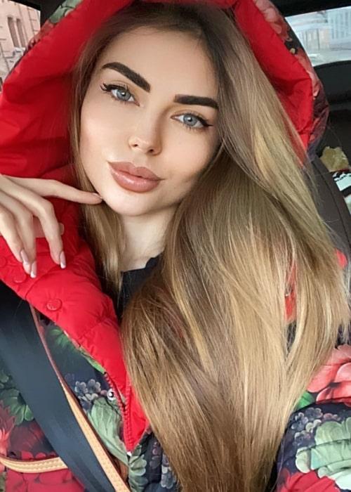 Daria Sibireva as seen in a selfie that was taken in April 2020