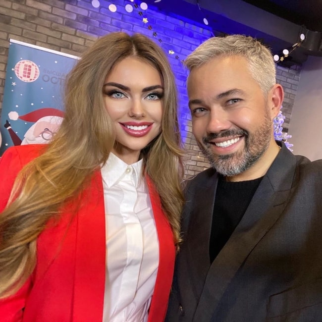Daria Sibireva as seen in a selfie that was taken with Alexandr Rogov in December 2019