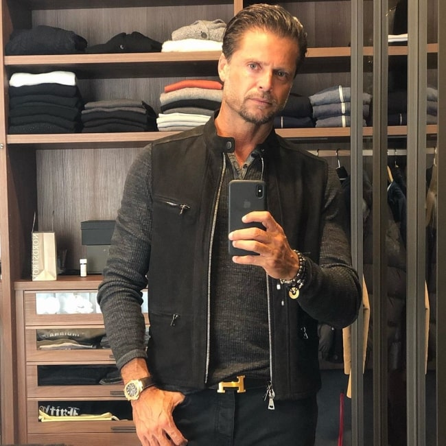 David Charvet in May 2019 wishing everybody a good time with lots of gratitude and love
