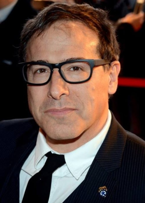 David O. Russell as seen in a picture that was taken in Paris at the French premiere of American Hustle on February 3, 2014