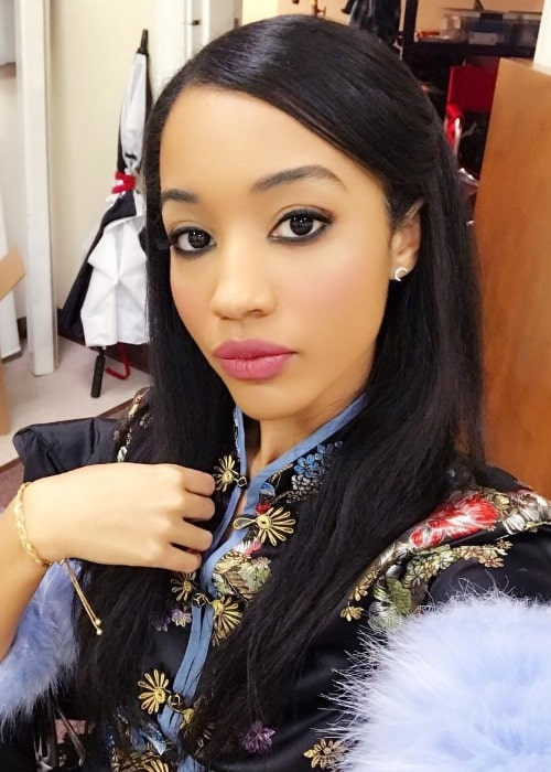 Erinn Westbrook as seen in a selfie in August 2018