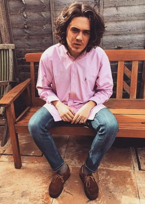 Frankie Cocozza as seen in an Instagram post in April 2016