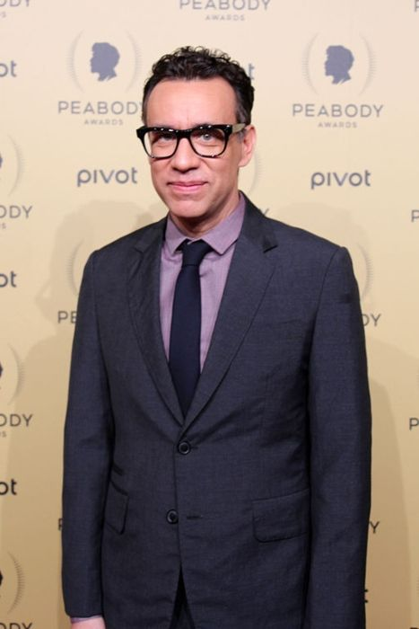 Fred Armisen as seen on the red carpet of the 74th Peabody Awards in 2015