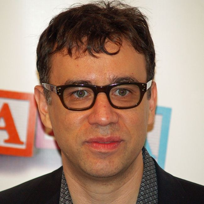 Fred Armisen seen arriving at the Tribeca Film Festival for the premiere of Baby Mama in 2008