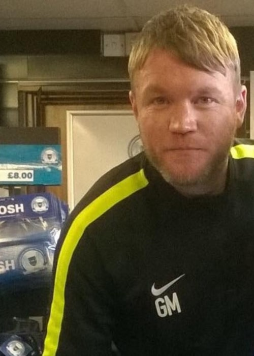 Grant McCann as seen in a picture that was taken at a PUFC signing on April 12, 2016