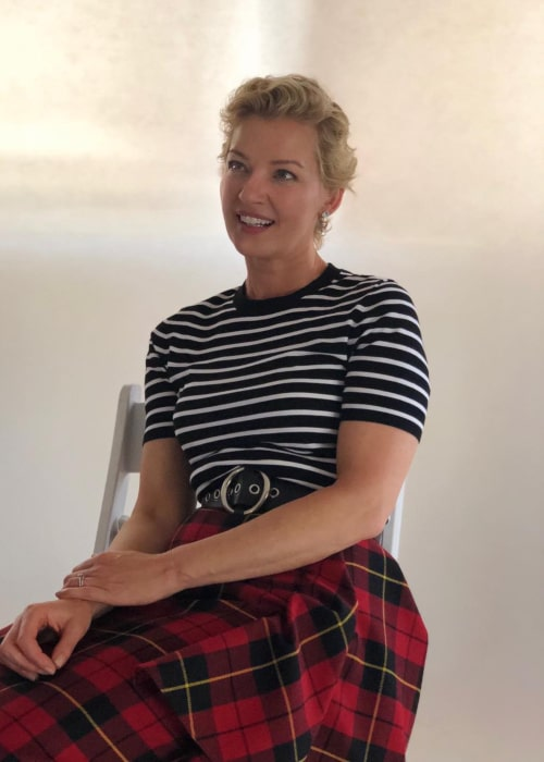 Gretchen Mol as seen in an Instagram Post in July 2018
