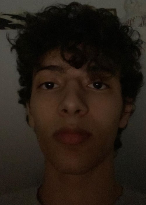 HamzahTheFantastic as seen in a selfie that was taken in August 2020