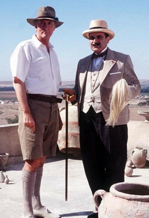 Hugh Fraser as seen in the TV episode Murder in Mesopotamia (2002)