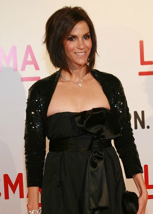Jami Gertz at the Opening of the Broad Contemporary Art Museum in February 2008