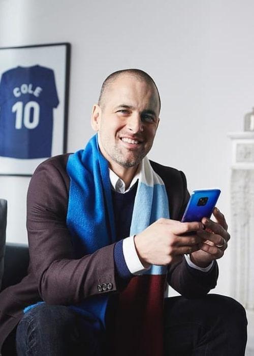 Joe Cole as seen in an Instagram Post in February 2019