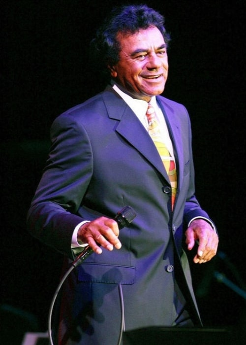 Johnny Mathis pictured in concert at the Chumash Casino Resort in Santa Ynez, California on May 25, 2006