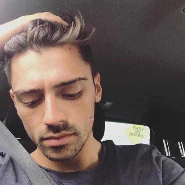 Joseph Devries as seen in a selfie that was taken in Australia in August 2020