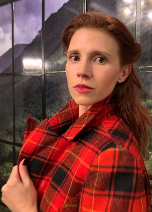 Julie McNiven as seen in September 2019