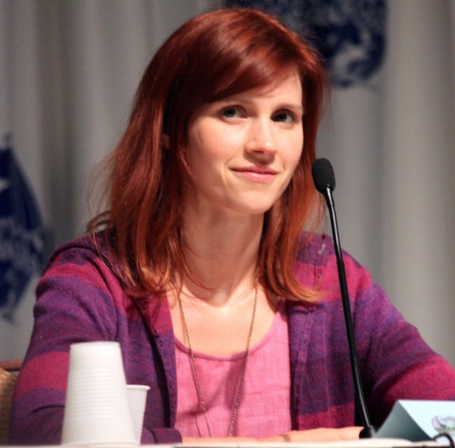Julie McNiven pictured at the 2011 DragonCon