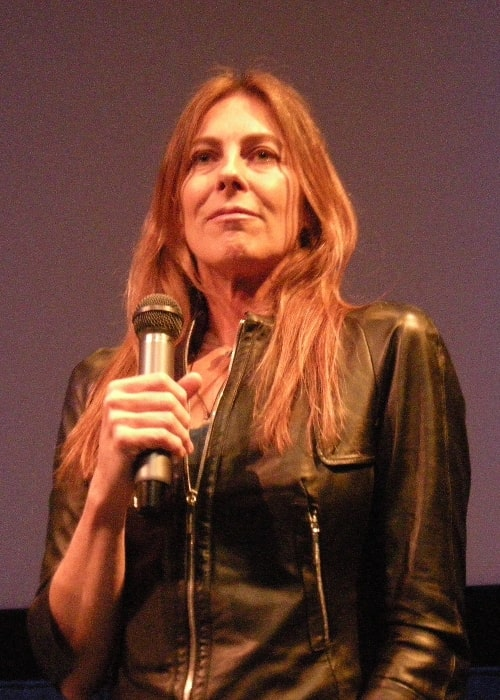 Kathryn Bigelow as seen while speaking at the Seattle International Film Festival in 2009, after a showing of her film 'The Hurt Locker'