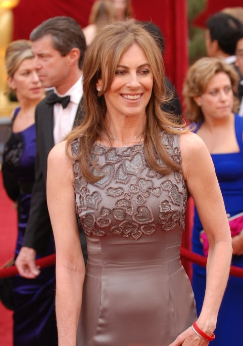Kathryn Bigelow pictured while arriving at the 82nd Academy Awards in 2010
