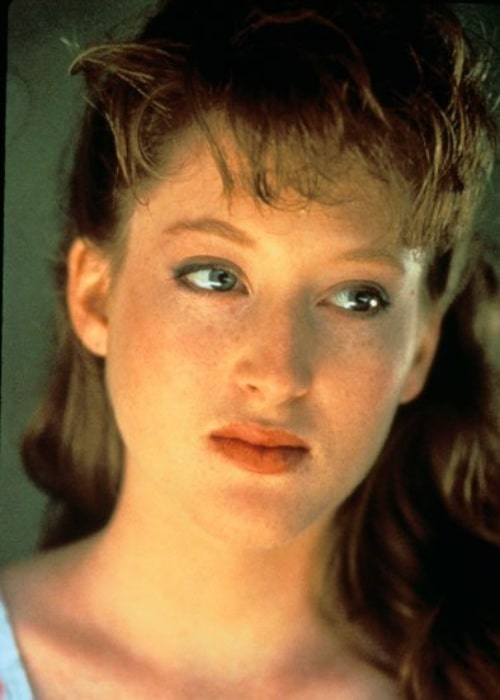 Kim Myers as seen in a screenshot from one of her films