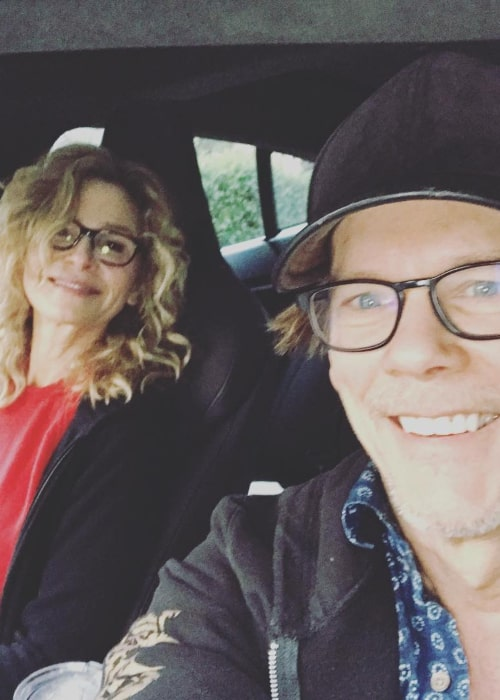 Kyra Sedgwick and Kevin Bacon, as seen in March 2018
