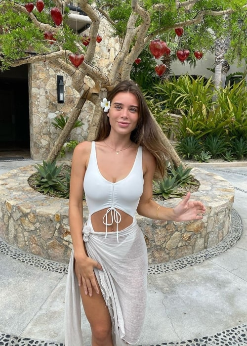 Lana Rhoades as seen in a picture that was taken at Cabo San Lucas in Mexico September 2020