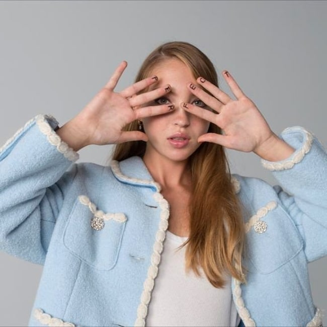 Lila Grace Moss-Hack as seen in an Instagram post in July 2020