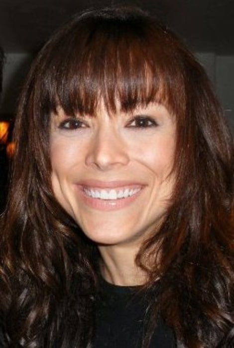Liz Vassey as seen while smiling in a picture taken in Altadena, California on December 6, 2008