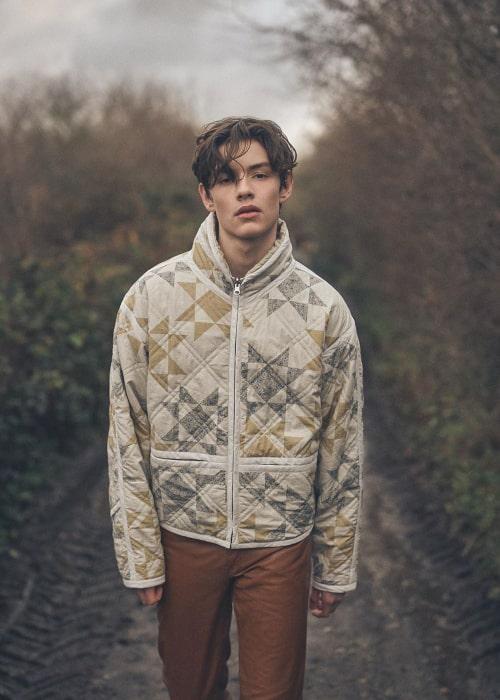 Louis Partridge as seen in an Instagram Post in February 2020