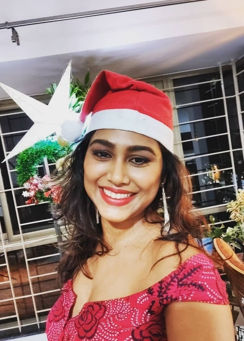 Manisha Yadav as seen in a selfie that was taken in December 2019