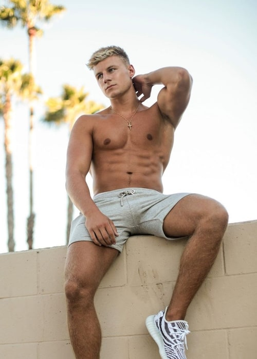 Max Wyatt as seen in a picture that was taken in Los Angeles, California in August 2020