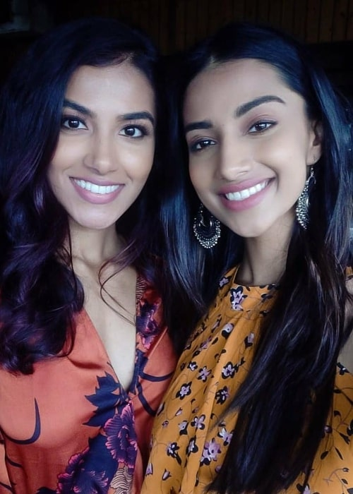 Meenakshi Chaudhary (Right) and Chhavi Verg