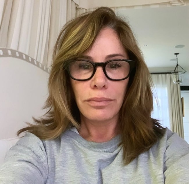 Melissa Rivers as seen while taking a selfie in August 2020
