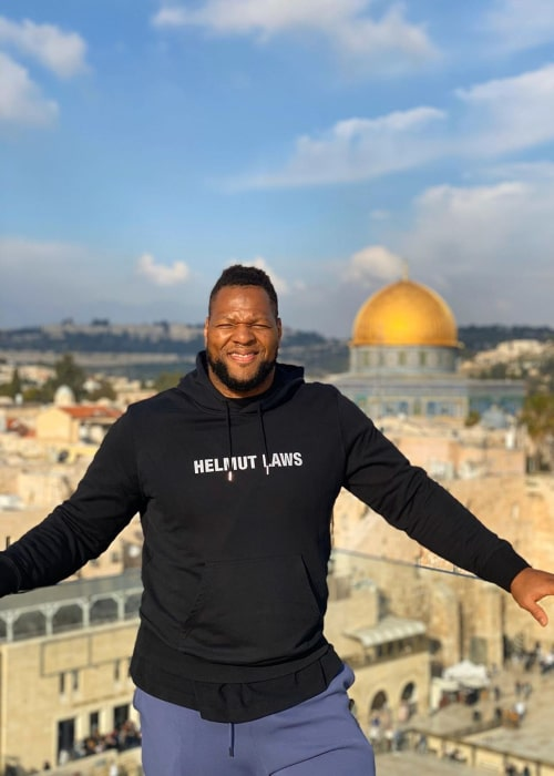 Ndamukong Suh as seen in an Instagram Post in February 2020