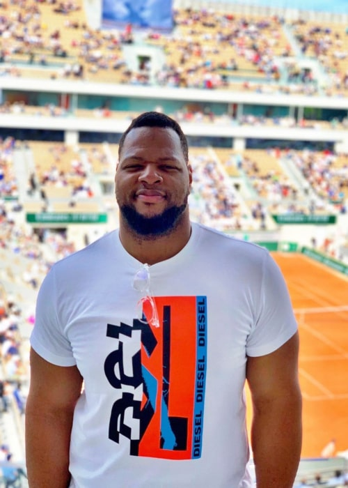 Ndamukong Suh as seen in an Instagram Post in May 2019
