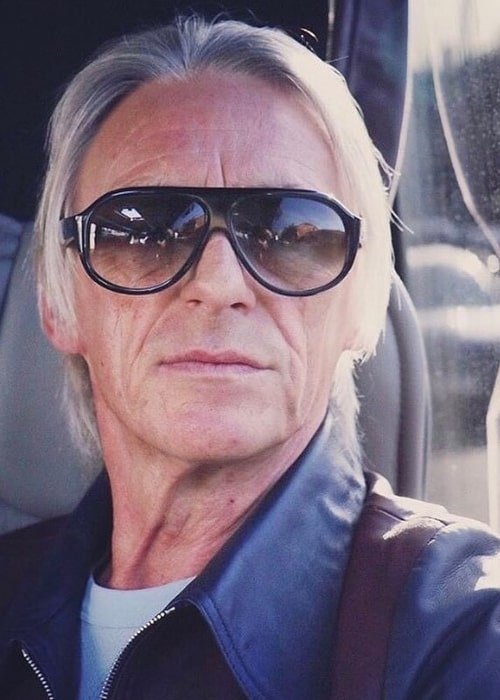 Paul Weller in an Instagram selfie from April 2020