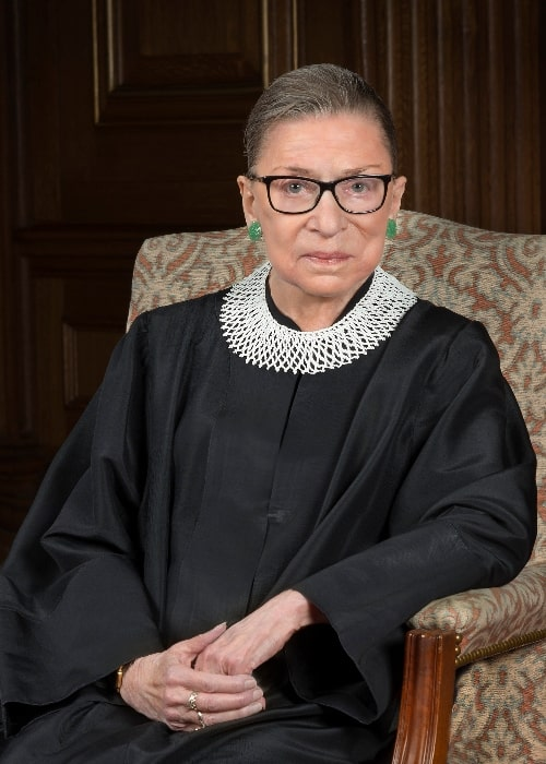 Ruth Bader Ginsburg in the 2016 official portrait