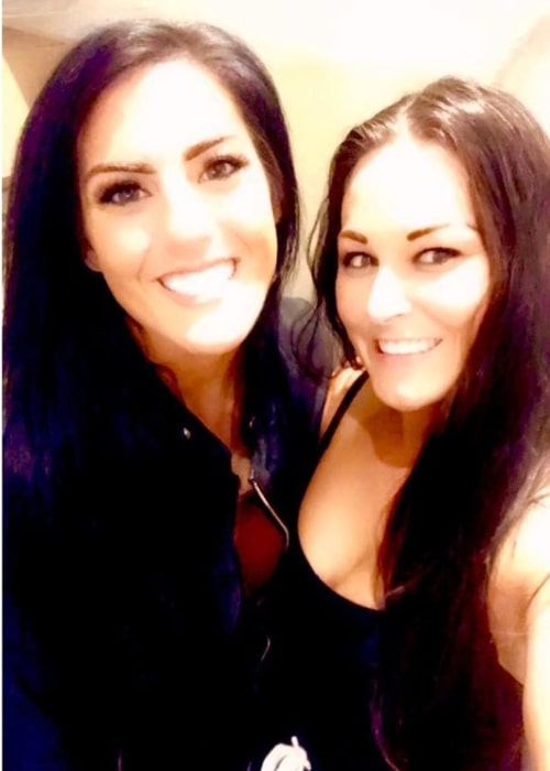 Savannah Summers as seen in a picture that was taken with Tessa Blanchard in July 2020