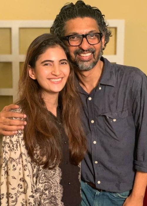 Shivani Raghuvanshi smiling for a picture alongside Niranjan Iyengar in 2019
