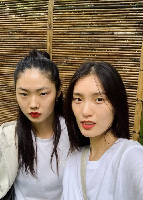 Sijia Kang as seen in a selfie that was taken with model Chunjie Liu at the Six Senses Qing Cheng Mountain in August 2020