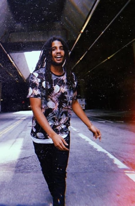 Skip Marley in July 2020 urging everyone to make this a good life even if times are unfavorable