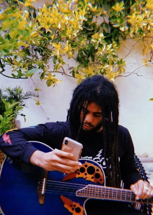 Skip Marley in May 2020 contemplating on how the human experience is all about learning as much as possible